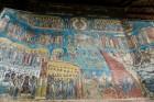 Pictura manastirea Voronet
